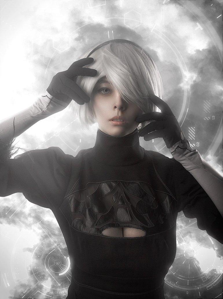 nier__automata__yorha_no_2_type_b__aka_2b__cosplay_by_disharmonica-dazhrg5 Cosplay - NieR Automata #145