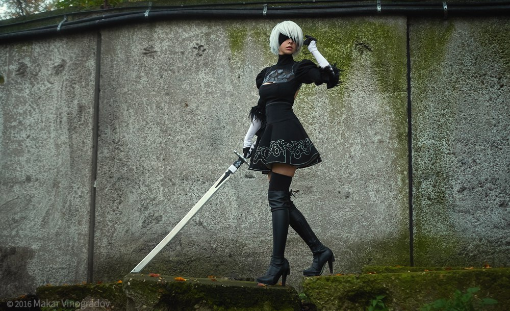 nier__automata__yorha_no_2_type_b__aka_2b__cosplay_by_disharmonica-db03kag Cosplay - NieR Automata #145