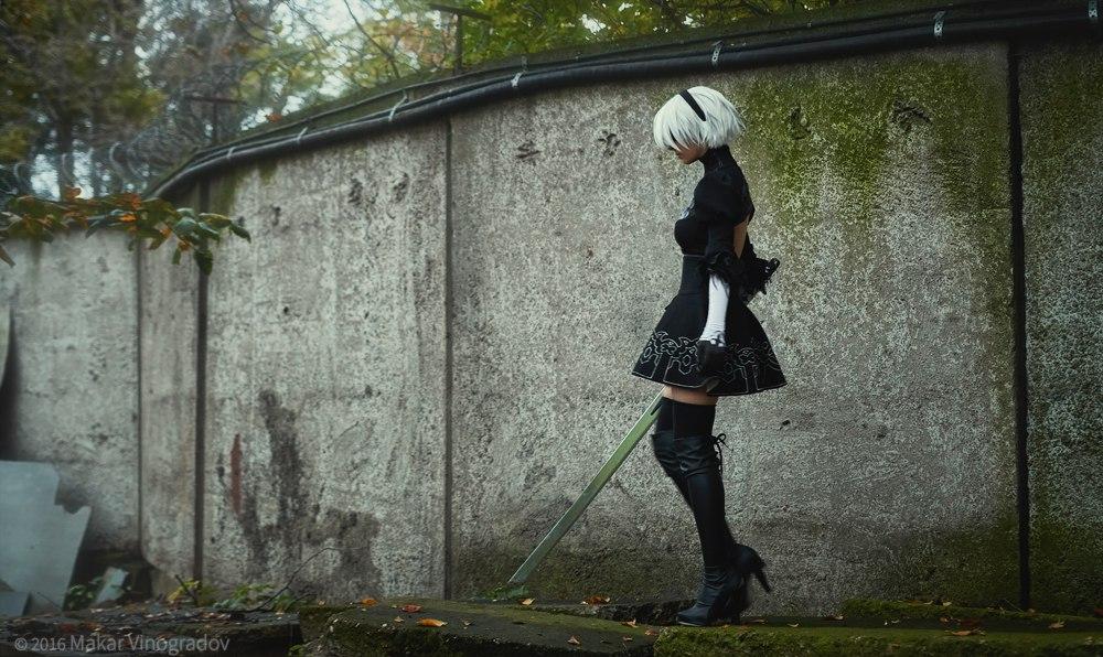 nier__automata__yorha_no_2_type_b__aka_2b__cosplay_by_disharmonica-db03kao Cosplay - NieR Automata #145