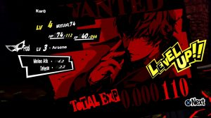 Persona-5-level-up-300x169 Test - Persona 5 - PS4