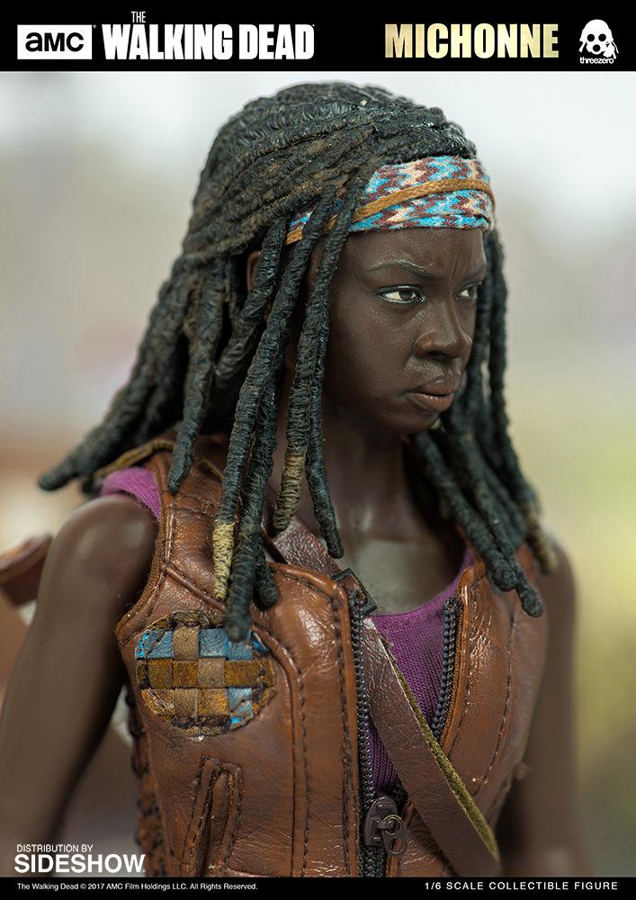 amc-the-walking-dead-michonne-sixth-scale-threezero-902991-05 Figurine - The Walking Dead - Michonne et ses rôdeurs
