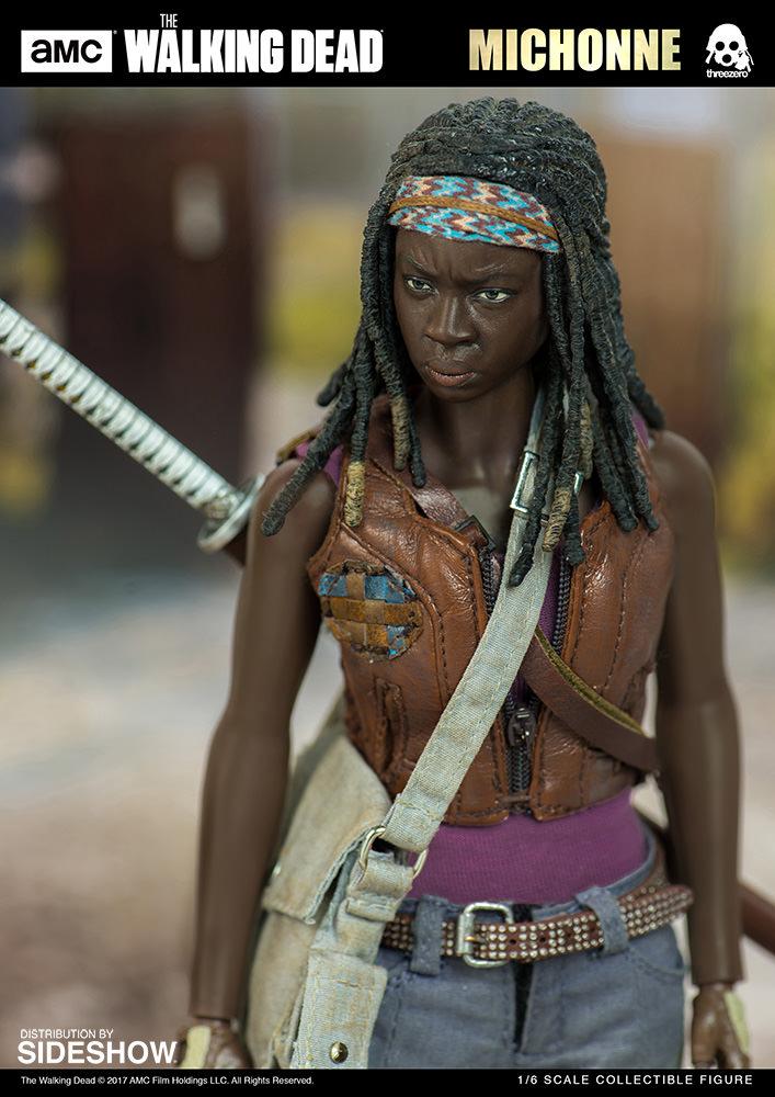 amc-the-walking-dead-michonne-sixth-scale-threezero-902991-06 Figurine - The Walking Dead - Michonne et ses rôdeurs