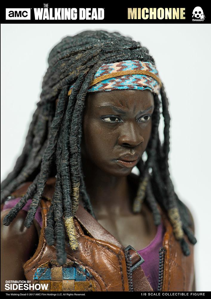 amc-the-walking-dead-michonne-sixth-scale-threezero-902991-07 Figurine - The Walking Dead - Michonne et ses rôdeurs