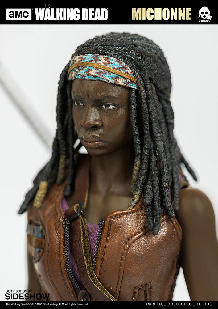 amc-the-walking-dead-michonne-sixth-scale-threezero-902991-09 Figurine - The Walking Dead - Michonne et ses rôdeurs