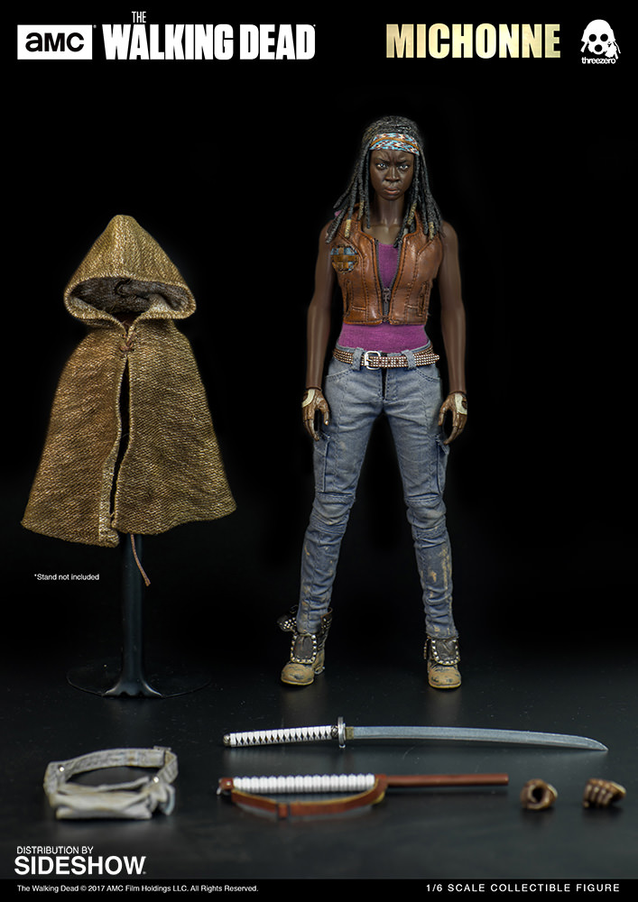 amc-the-walking-dead-michonne-sixth-scale-threezero-902991-11 Figurine - The Walking Dead - Michonne et ses rôdeurs