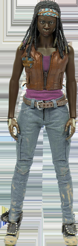 amc-the-walking-dead-michonne-sixth-scale-threezero-silo-902991 Figurine - The Walking Dead - Michonne et ses rôdeurs