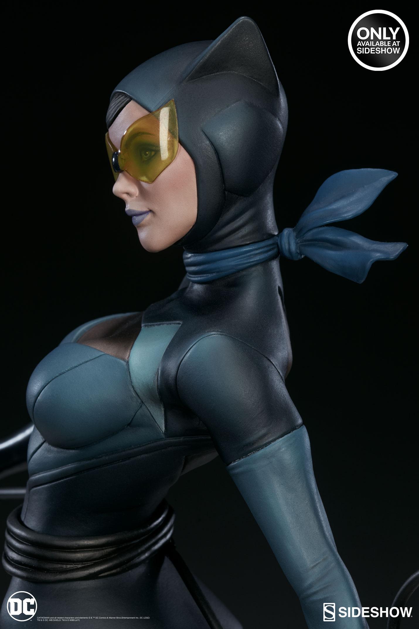 dc-comics-catwoman-statue-stanley-artgerm-lau-artist-series-200428-10 Figurines - Harley Quinn - Catwoman et Poison Ivy vues par Artgerm