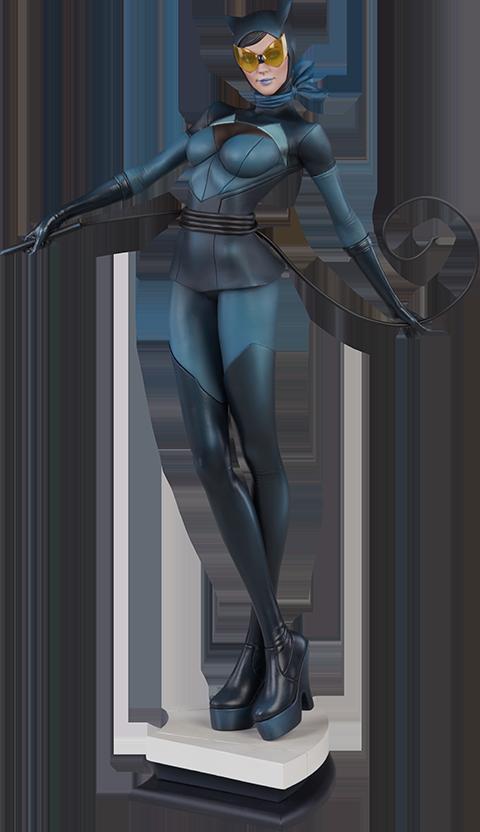dc-comics-catwoman-statue-stanley-artgerm-lau-artist-series-silo-200428 Figurines - Harley Quinn - Catwoman et Poison Ivy vues par Artgerm