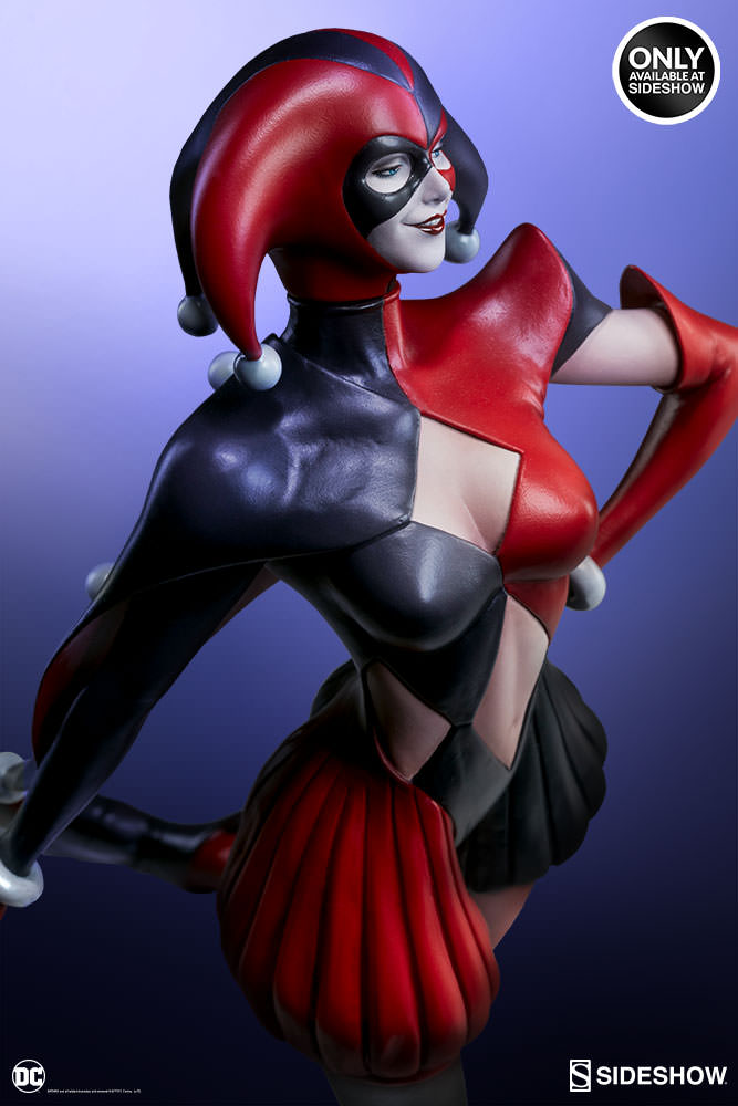dc-comics-harley-quinn-stanley-artgerm-lau-artist-series-statue-200430-03 Figurines - Harley Quinn - Catwoman et Poison Ivy vues par Artgerm