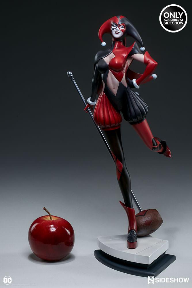 dc-comics-harley-quinn-stanley-artgerm-lau-artist-series-statue-200430-04 Figurines - Harley Quinn - Catwoman et Poison Ivy vues par Artgerm