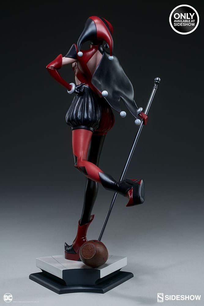 dc-comics-harley-quinn-stanley-artgerm-lau-artist-series-statue-200430-05 Figurines - Harley Quinn - Catwoman et Poison Ivy vues par Artgerm