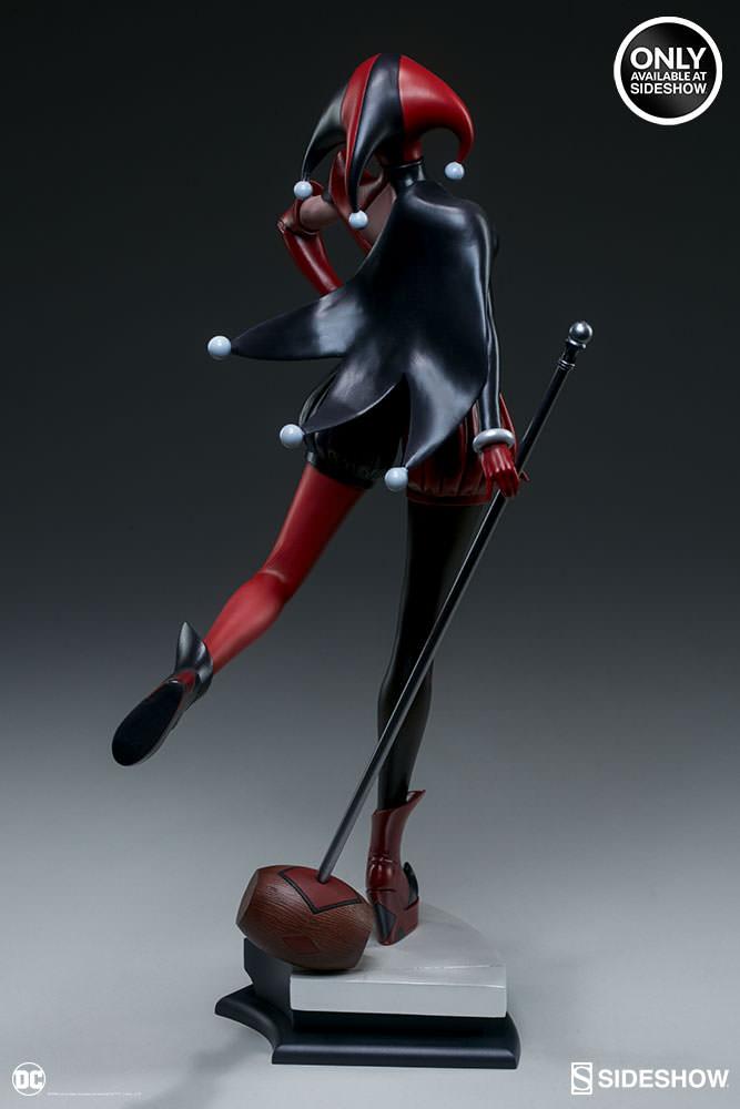 dc-comics-harley-quinn-stanley-artgerm-lau-artist-series-statue-200430-06 Figurines - Harley Quinn - Catwoman et Poison Ivy vues par Artgerm