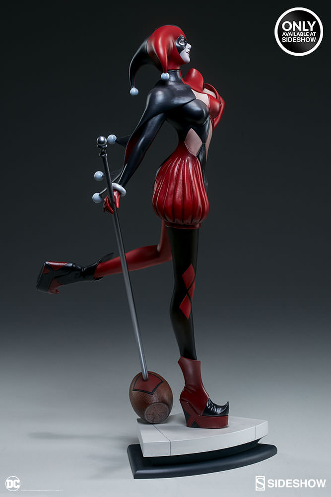 dc-comics-harley-quinn-stanley-artgerm-lau-artist-series-statue-200430-07 Figurines - Harley Quinn - Catwoman et Poison Ivy vues par Artgerm