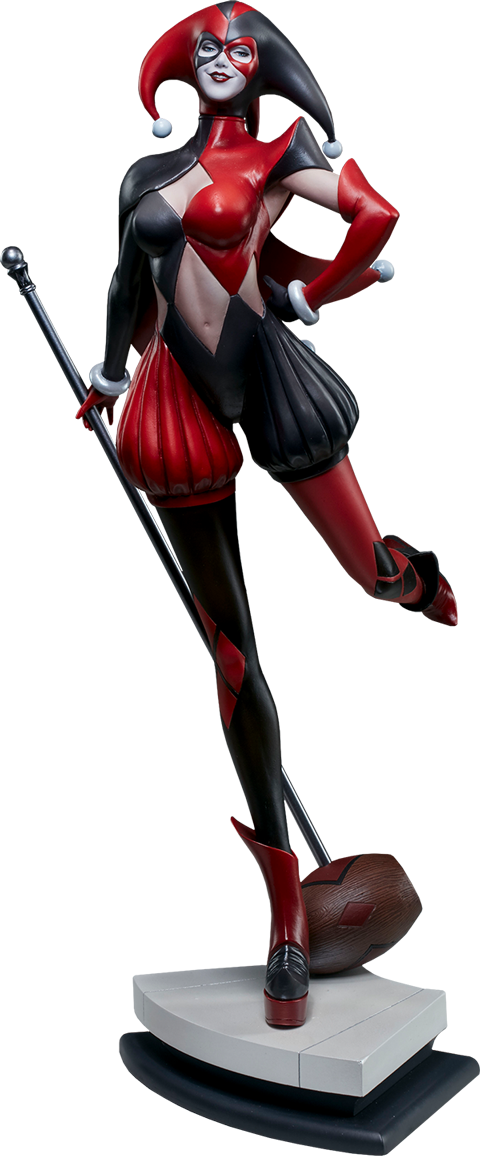 dc-comics-harley-quinn-stanley-artgerm-lau-artist-series-statue-silo-200430 Figurines - Harley Quinn - Catwoman et Poison Ivy vues par Artgerm