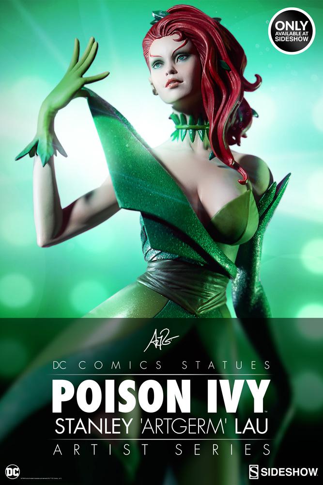 dc-comics-poison-ivy-stanley-artgerm-lau-artist-series-statue-200429-01 Figurines - Harley Quinn - Catwoman et Poison Ivy vues par Artgerm