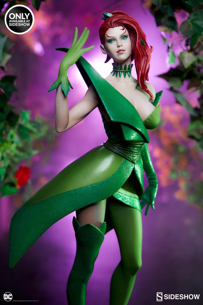 dc-comics-poison-ivy-stanley-artgerm-lau-artist-series-statue-200429-02 Figurines - Harley Quinn - Catwoman et Poison Ivy vues par Artgerm