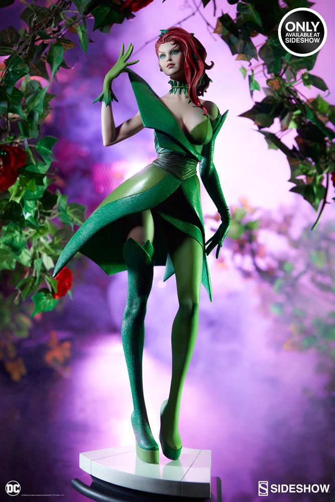 dc-comics-poison-ivy-stanley-artgerm-lau-artist-series-statue-200429-03 Figurines - Harley Quinn - Catwoman et Poison Ivy vues par Artgerm