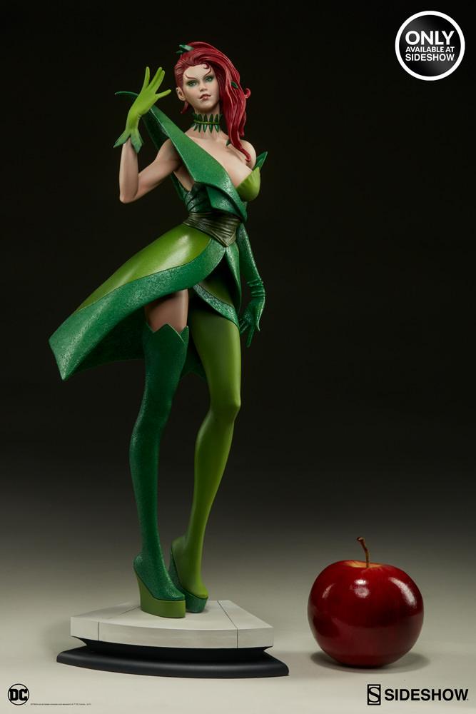 dc-comics-poison-ivy-stanley-artgerm-lau-artist-series-statue-200429-06 Figurines - Harley Quinn - Catwoman et Poison Ivy vues par Artgerm