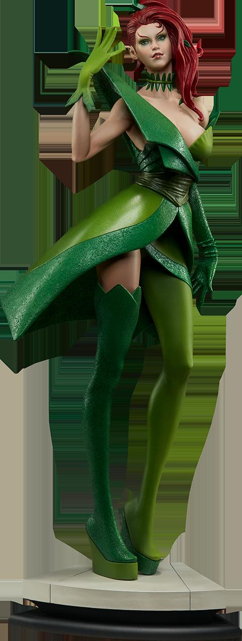 dc-comics-poison-ivy-stanley-artgerm-lau-artist-series-statue-silo-200429 Figurines - Harley Quinn - Catwoman et Poison Ivy vues par Artgerm