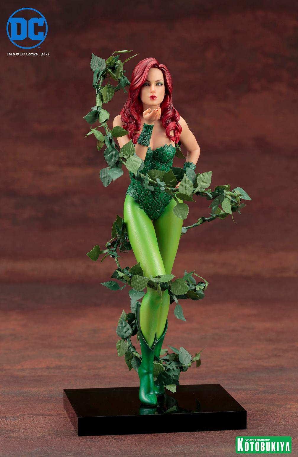 Kotobukiya-Artfx-Poison-Ivy-1 Figurine -  Poison Ivy par Kotobukiya (ArtFX)