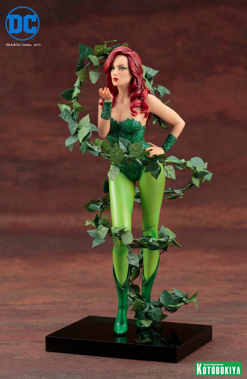 Kotobukiya-Artfx-Poison-Ivy-2 Figurine -  Poison Ivy par Kotobukiya (ArtFX)