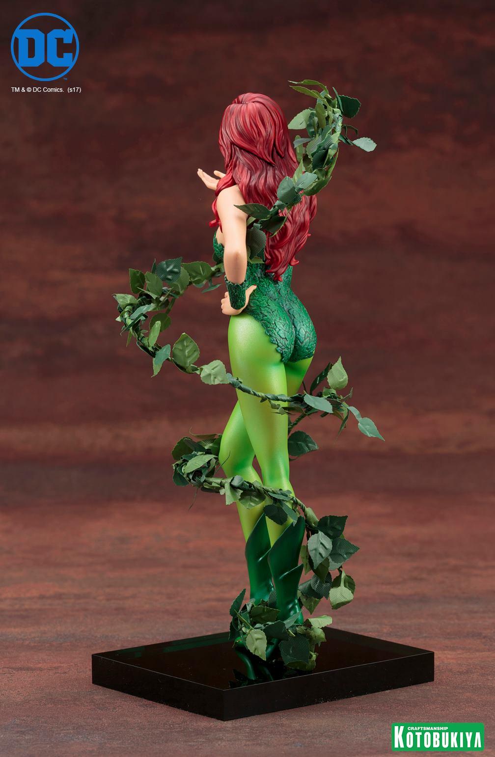 Kotobukiya-Artfx-Poison-Ivy-4 Figurine -  Poison Ivy par Kotobukiya (ArtFX)