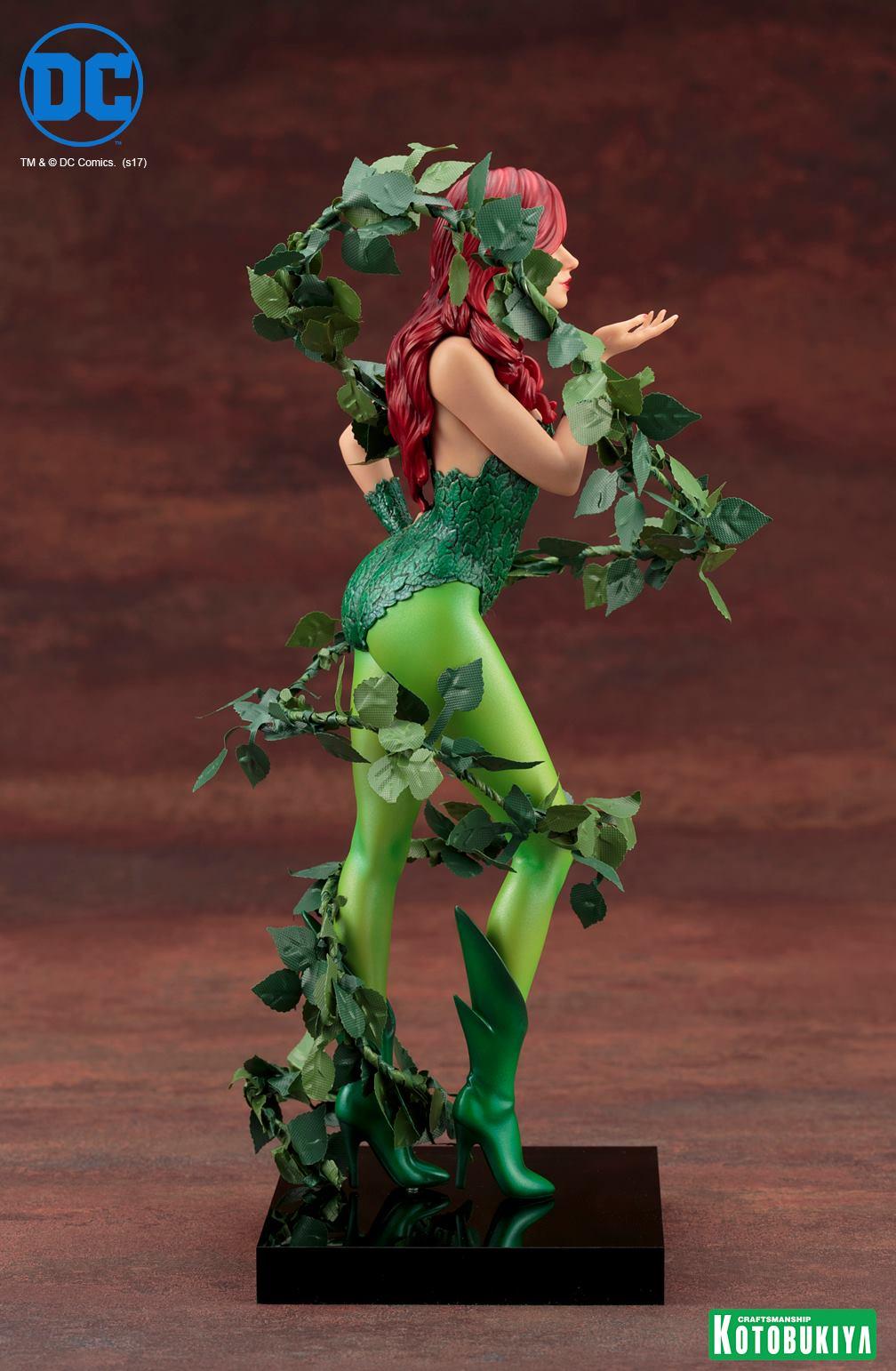 Kotobukiya-Artfx-Poison-Ivy-7 Figurine -  Poison Ivy par Kotobukiya (ArtFX)