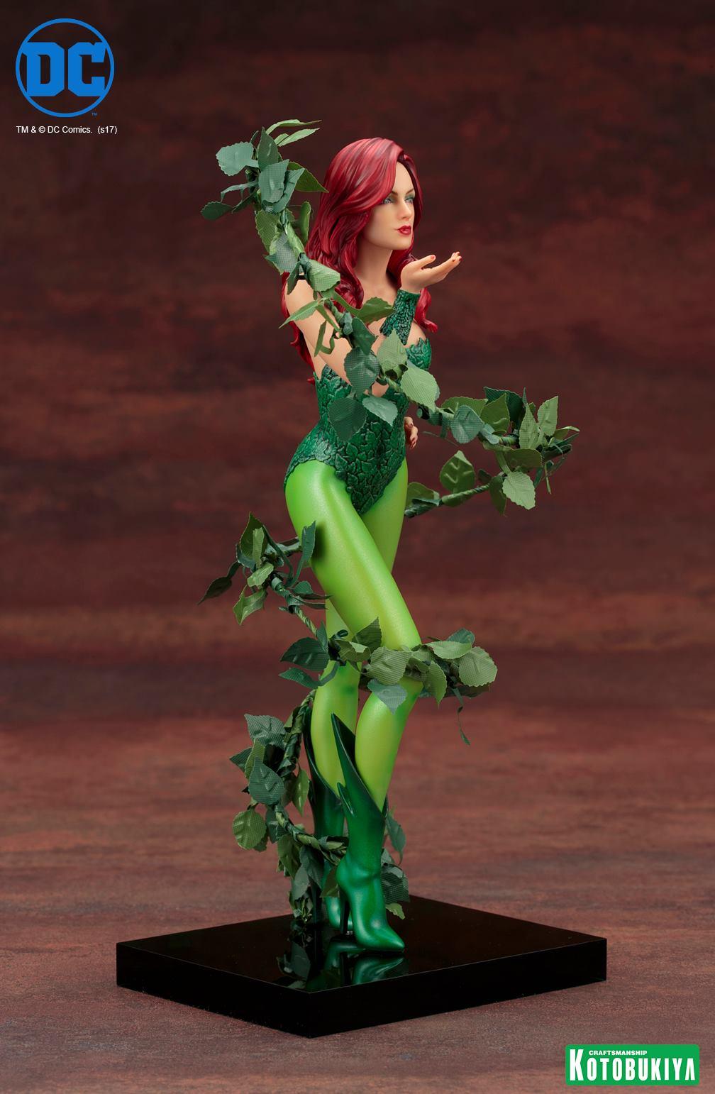 Kotobukiya-Artfx-Poison-Ivy-8 Figurine -  Poison Ivy par Kotobukiya (ArtFX)