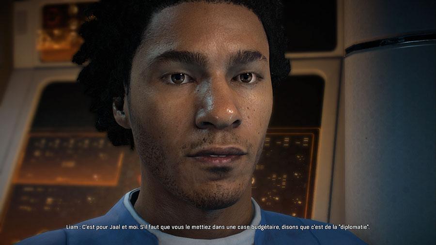 MEA_GrosPlanVisage TEST - Mass Effect Andromeda