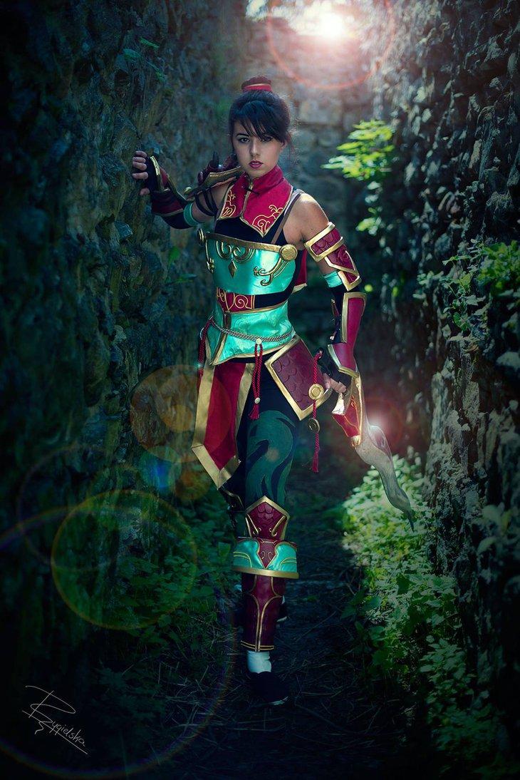 wandering_mulan_by_biseuse-db7zi2i Cosplay - Mulan #148