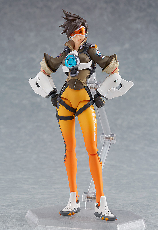 Figurine-tracer-overwatch-1 OverWatch - Une figurine Figma Tracer par Good Smile Company