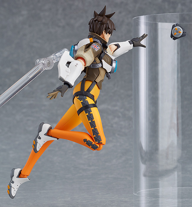 Figurine-tracer-overwatch-3 OverWatch - Une figurine Figma Tracer par Good Smile Company