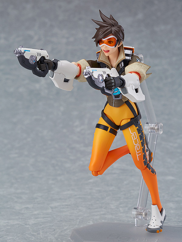 Figurine-tracer-overwatch-5 OverWatch - Une figurine Figma Tracer par Good Smile Company