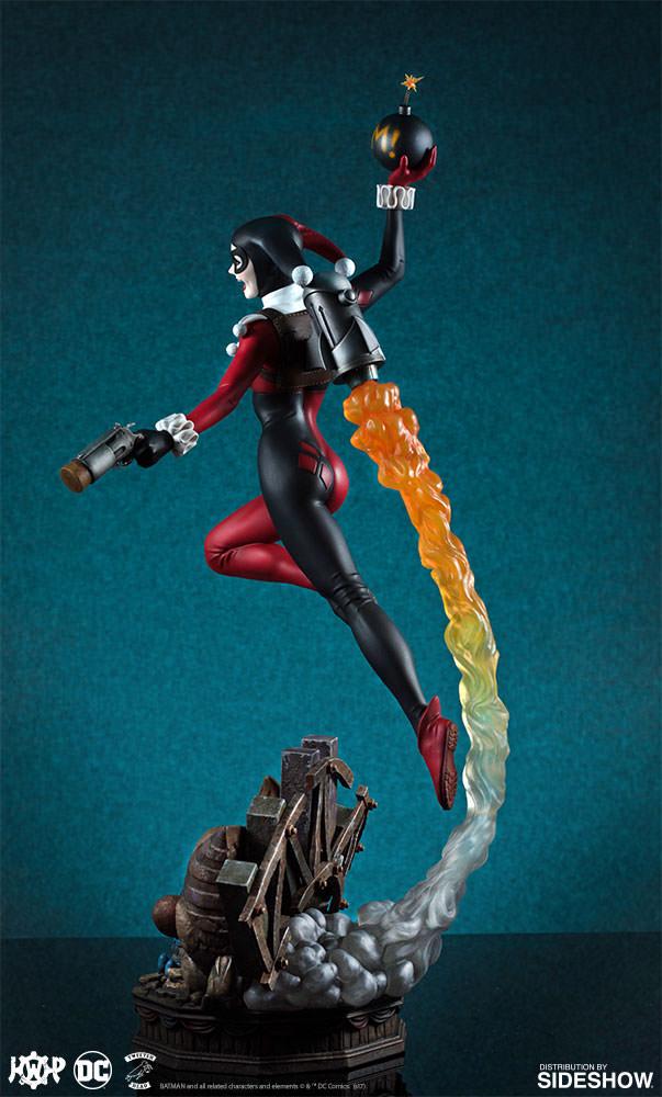 dc-comics-harley-quinn-maquette-super-powers-collection-tweeterhead-feature-903045-02 Harley Quinn Super Powers Collection Maquette