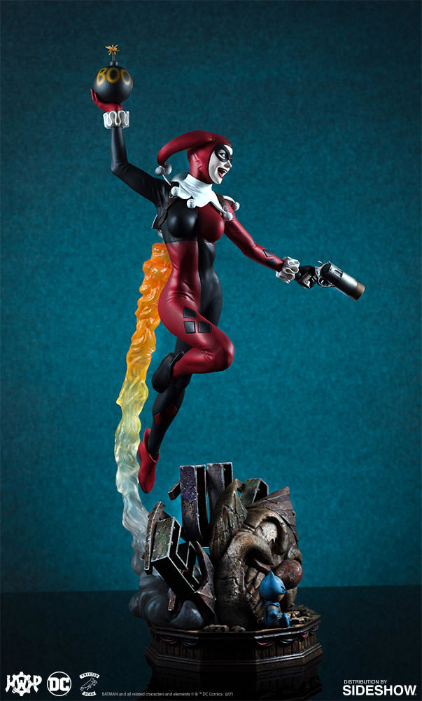 dc-comics-harley-quinn-maquette-super-powers-collection-tweeterhead-feature-903045-06 Harley Quinn Super Powers Collection Maquette