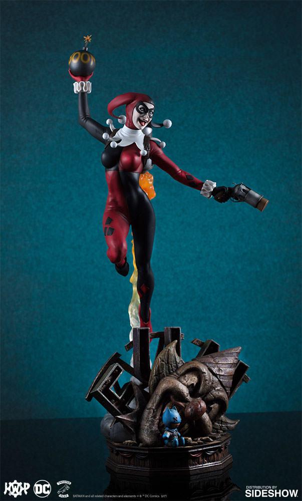 dc-comics-harley-quinn-maquette-super-powers-collection-tweeterhead-feature-903045-07 Harley Quinn Super Powers Collection Maquette