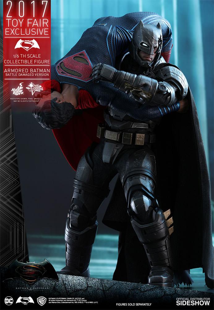 dc-comics-bvs-armored-batman-battle-damaged-version-sixth-scale-hot-toys-903086-10 Figurine - Armored Batman Battle Damaged Version