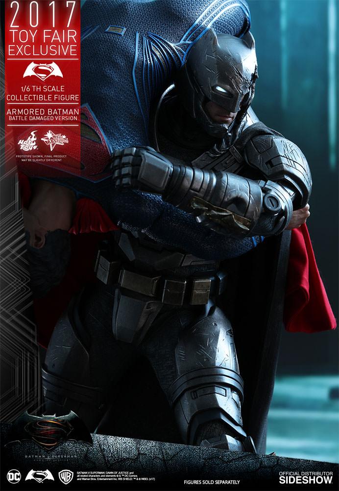 dc-comics-bvs-armored-batman-battle-damaged-version-sixth-scale-hot-toys-903086-12 Figurine - Armored Batman Battle Damaged Version