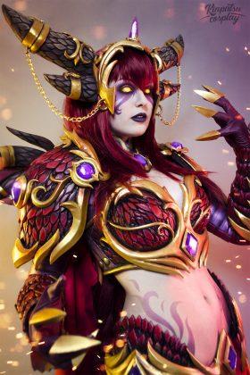 Alexstrasza-World-of-Warcraft-by-Kinpatsu-Cosplay-280x420 MICM 2018 - Présentation de Kinpatsu Cosplay (Magic 2018) #1
