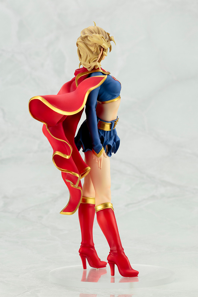DC029_DCB_supergirl_re_04 Figurine - DC Comics Supergirl Returns Bishoujo Statue