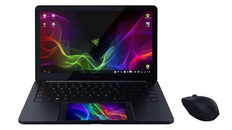 03E8000008787716-photo-razer-project-linda-front-tilted-with-atheris-747x420 Razer dévoile le PROJECT LINDA, le concept d'ordinateur et téléphone portable android hybride