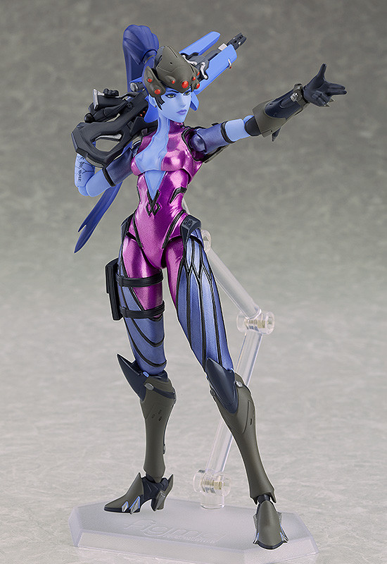 3-a29e8188ff18be4c6400197112580f68 OverWatch - Une figurine Figma Widowmaker par Good Smile Company