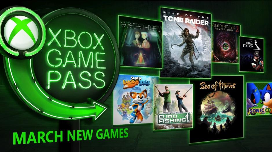 xbox game pass les jeux du mois de mars 2018. Black Bedroom Furniture Sets. Home Design Ideas