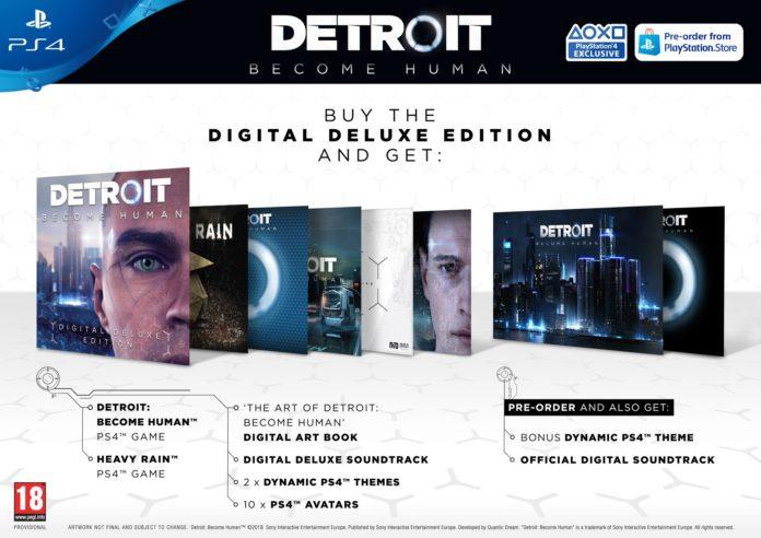 DXOC_nqWkAEdrst-696x492 Detroit Become Human - Les éditions spéciales