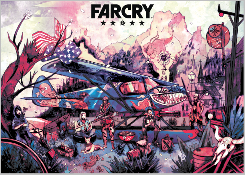 FAR_CRY_5_Geek-Art_GAX_1521108666_868x618_800x570 Far Cry 5 - L'univers du jeu vu par 10 artiste de Geek-Art