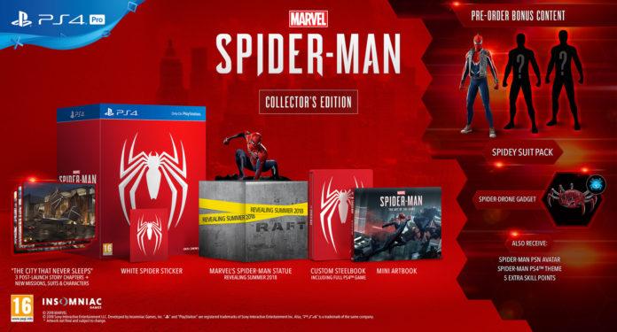 Collector-spiderman-ps4-696x375 Marvel's Spider-man - Les éditions spéciales