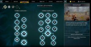 compétences-300x157 Mon avis sur God of War - L'éducation par Kratos