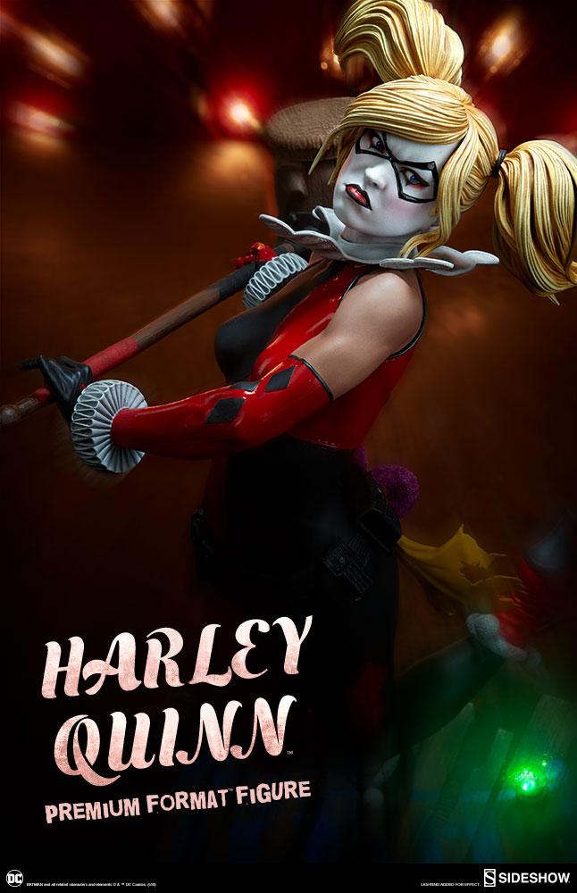 dc-comics-harley-quinn-premium-format-figure-sideshow-300474-01 Figurine – DC Comics Harley Quinn Premium Format