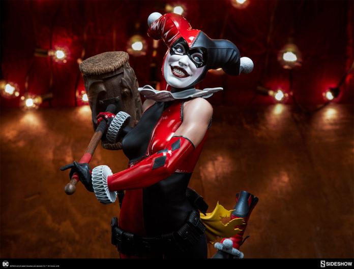 dc-comics-harley-quinn-premium-format-figure-sideshow-300474-05-696x530 Figurine – DC Comics Harley Quinn Premium Format