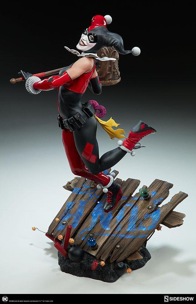 dc-comics-harley-quinn-premium-format-figure-sideshow-300474-07 Figurine – DC Comics Harley Quinn Premium Format